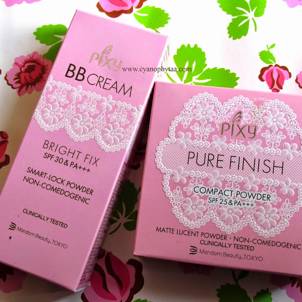 "Review: PIXY BB Cream Bright Fix SPF 30&PA+++ and PIXY Pure Finish Compact Powder SPF 25&PA+++ ""Beige"""
