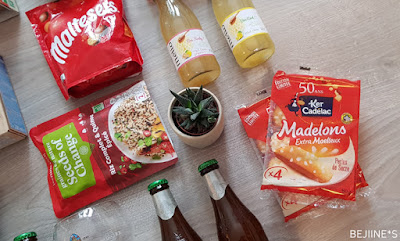 Unboxing DegustaBox de Mars