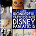 Disney-Themed Tattoos Done By Die-Hard Fans (36 Pics)