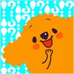 POODLE DOG(1) various faces [!] and [?]