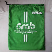 Tas promosi custom  Grab Indonesia