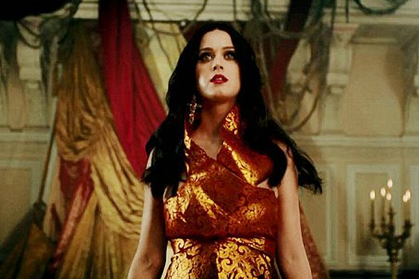 Katy Perry has released the music video for Unconditionally