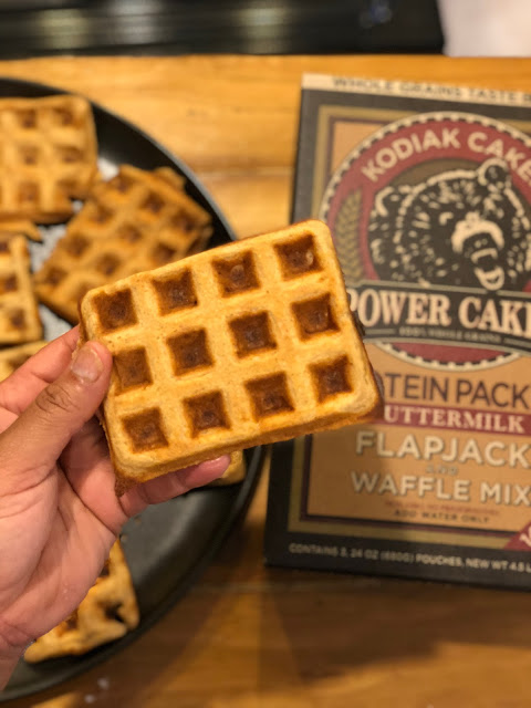 Easy, Delicious Waffles Under 100 Calories!