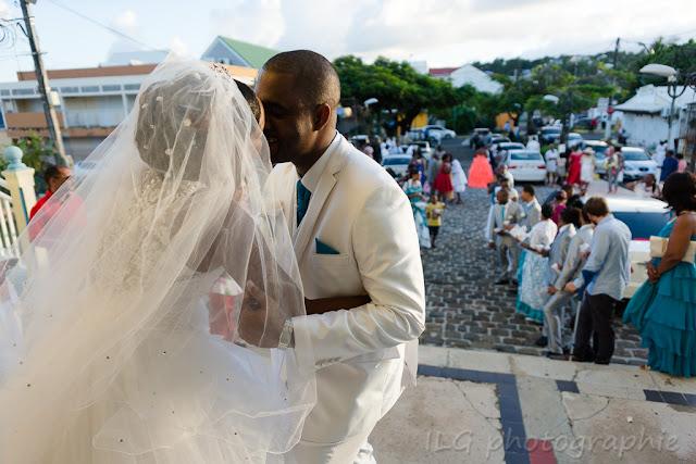 Eglise Petit-Bourg sortie des mariés