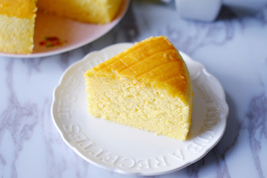 Coconut Passion Fruit Sponge Cake