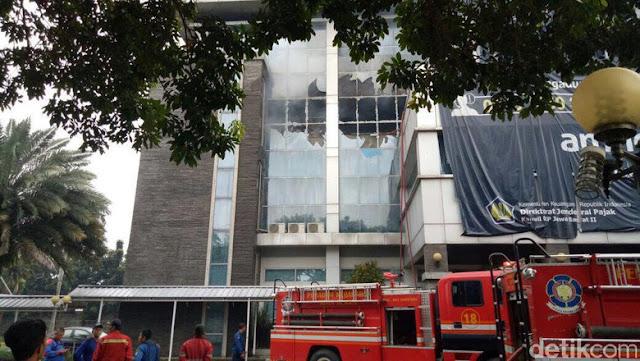 Kantor Pajak di Bekasi Kebakaran, Berkas Tax Amnesty Aman
