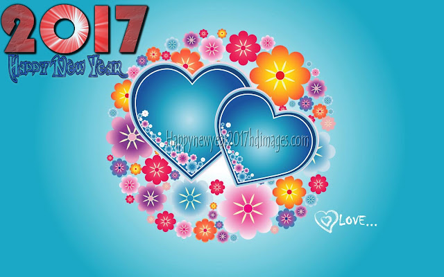 Happy New Year 2017 Love Wishes Images - New Year Love  2017 Greetings Images