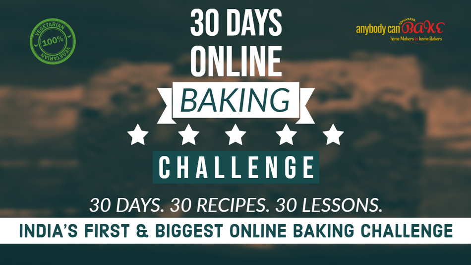 30 Days Online Baking Challenge