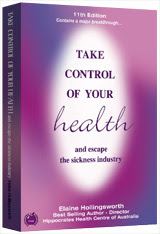 <b>Take Control of Your Health -And Avoid the Sickness Industry</b>