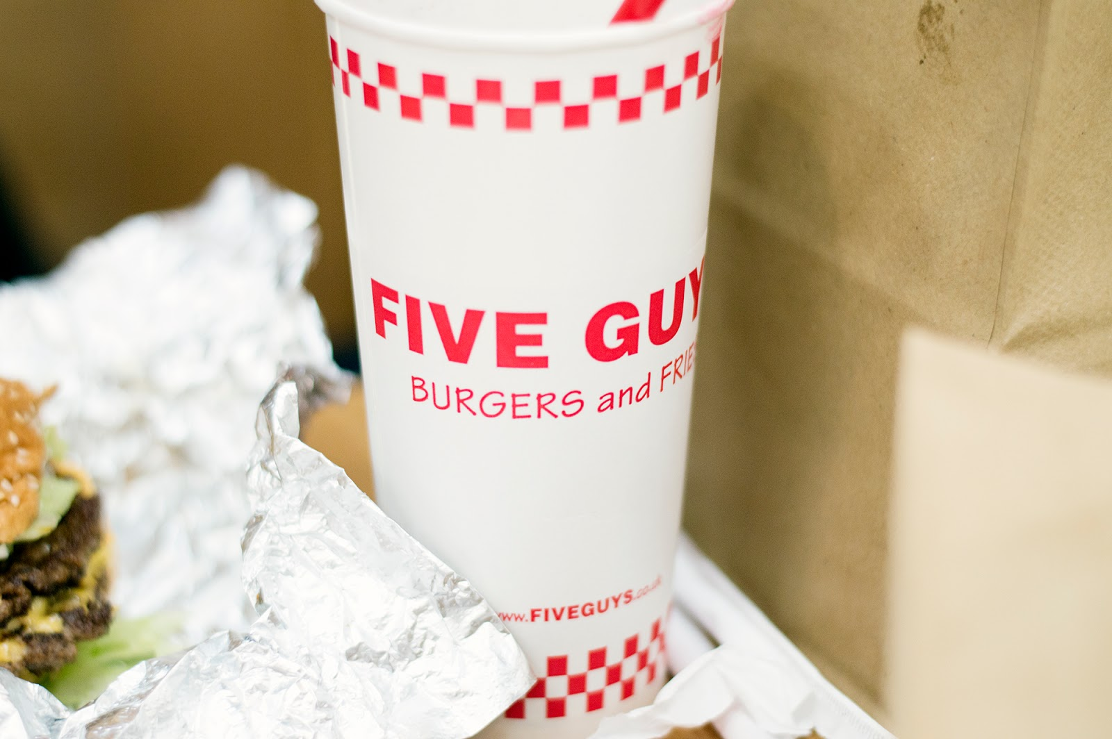 Review: Five Guys Metro Centre