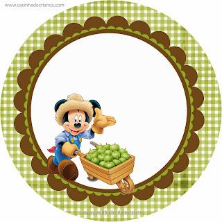 Kit Festa Fazendinha do Mickey