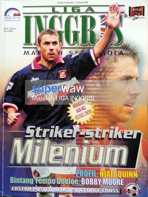 Majalah Liga Inggris Striker-Striker Milenium