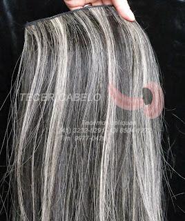 Tecimento de tela de mega hair