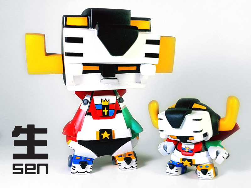 another chance 14fb7 bcaa0 VOLTRON by SEN Customs  One-Off MADL Custom   Last Batch of Dunny Recasts