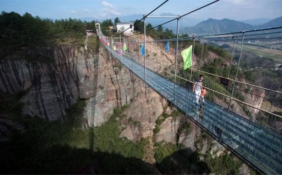 Podul Haohan Qiao un pod infricosator