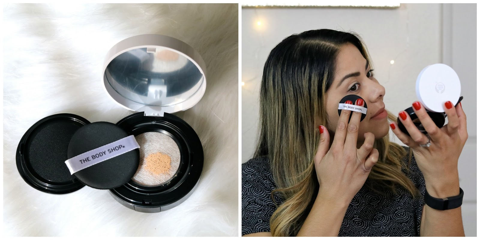 Fresh Nude Cushion Foundation, Body Shop Fresh Nude Cushion Foundation review, the body shop foundation