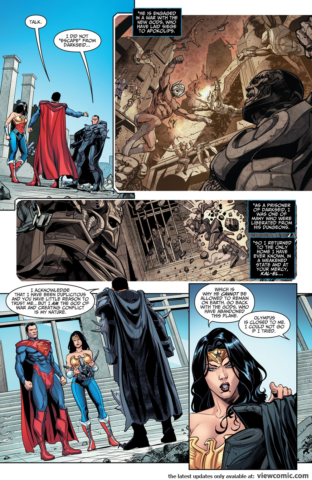 Injustice – Gods Among Us – Year (5) Annual 001 (2017) | Vietcomic.net reading comics online for free