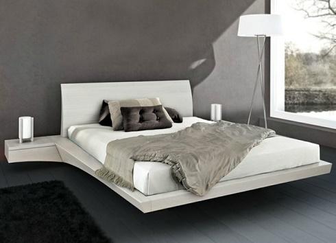 Dormitorios con camas modernas y originales dormitorios for Dormitorio original