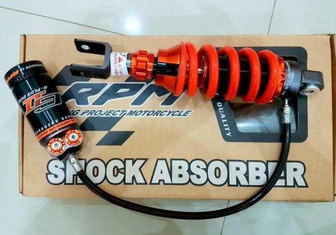 Shock belakang Suzuki GSX-R150 terlalu lembut ? . . bisa diganti pakai shock buatan RPM sob