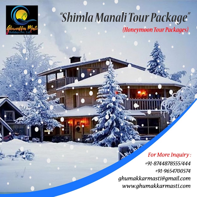 Shimla Manali Tour Packags