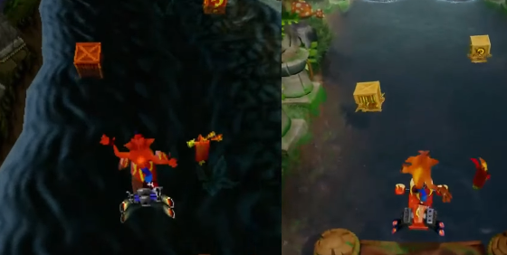 Comparan Crash Bandicoot 2 en sus versiones PS1 y PS4 1