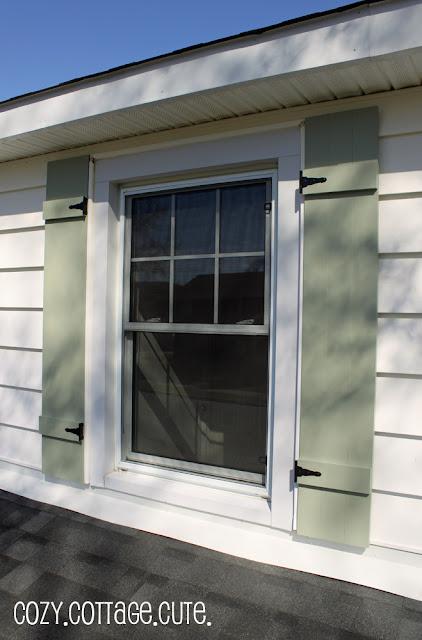 Exterior paint - shutters