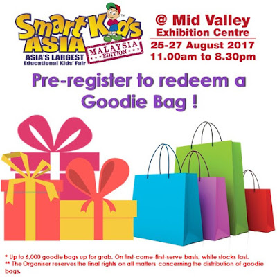 Free SmartKids Asia Goodie Bag Registration