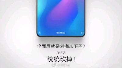 Xiaomi Mi MIX 3 Kabarnya Dirilis Pada 15 September