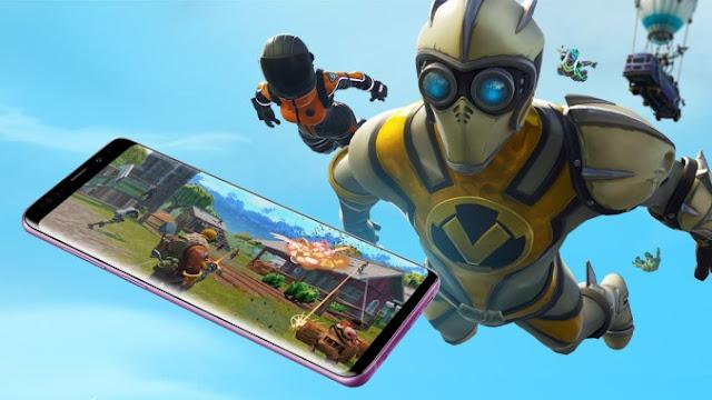 Fortnite mobile wallpaper