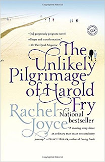 "Adult Book Group Reads ""The Unlikely Pilgrimage of Harold Fry"" for December 6 or 8, 2017"