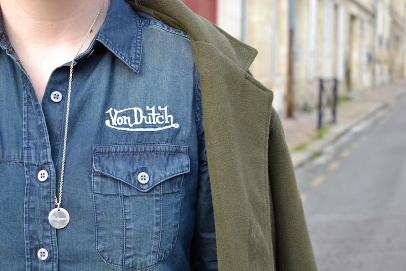 chemise en jean Von Dutch