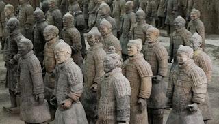 Prajurit terakota di Xi'an