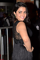 Wamiqa Gabbi in a sleeveless Black Designer Transparent Gown at 64th Jio Filmfare Awards South ~  Exclusive 008.JPG