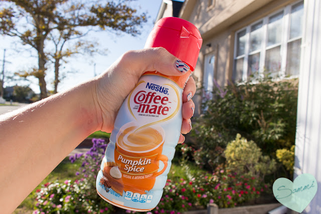 Fall Favorites Tag - Nestle Coffeemate Pumpkin Spice Creamer
