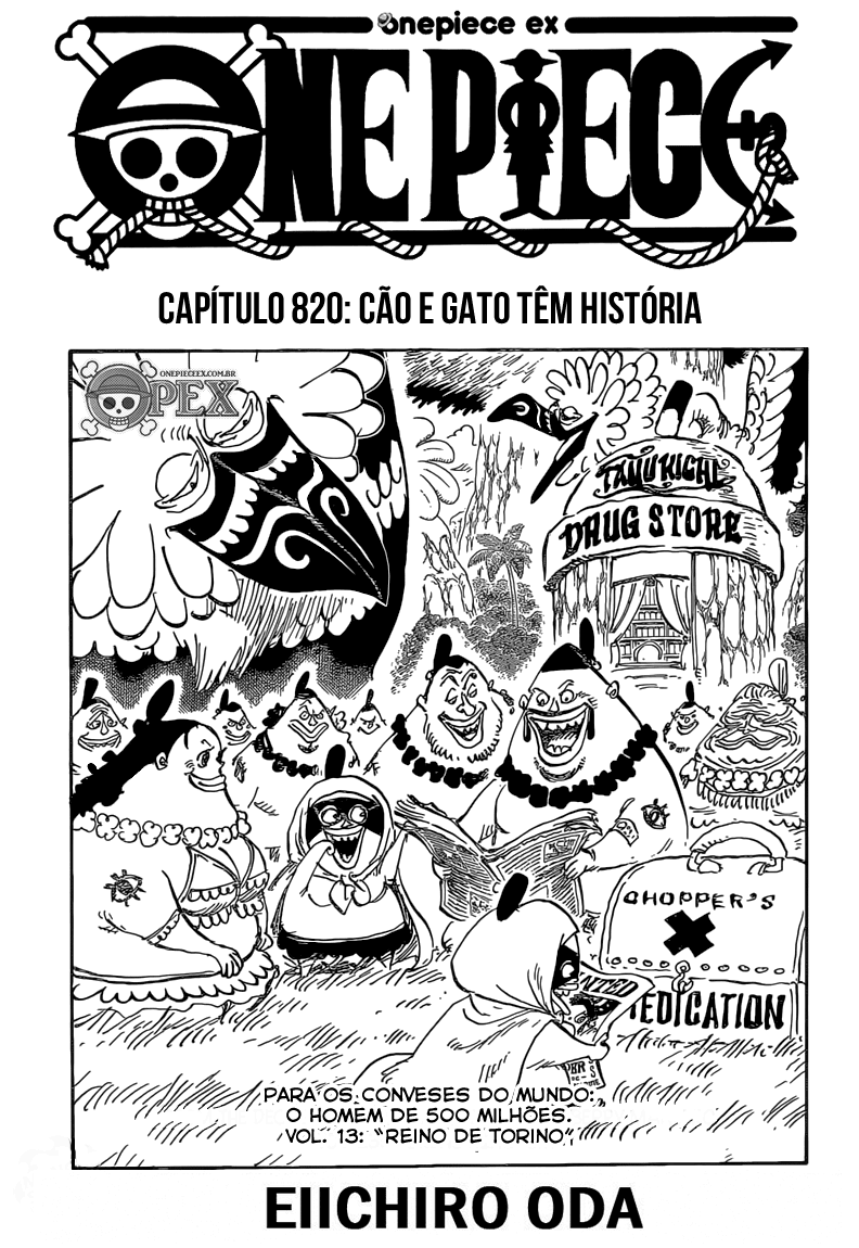 Mangá One Piece 820