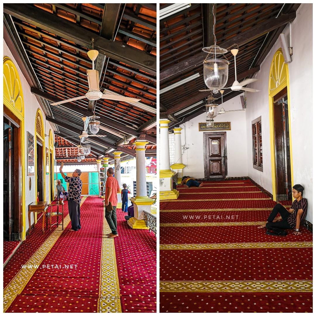 Masjid Kampung Hulu, Melaka - beranda