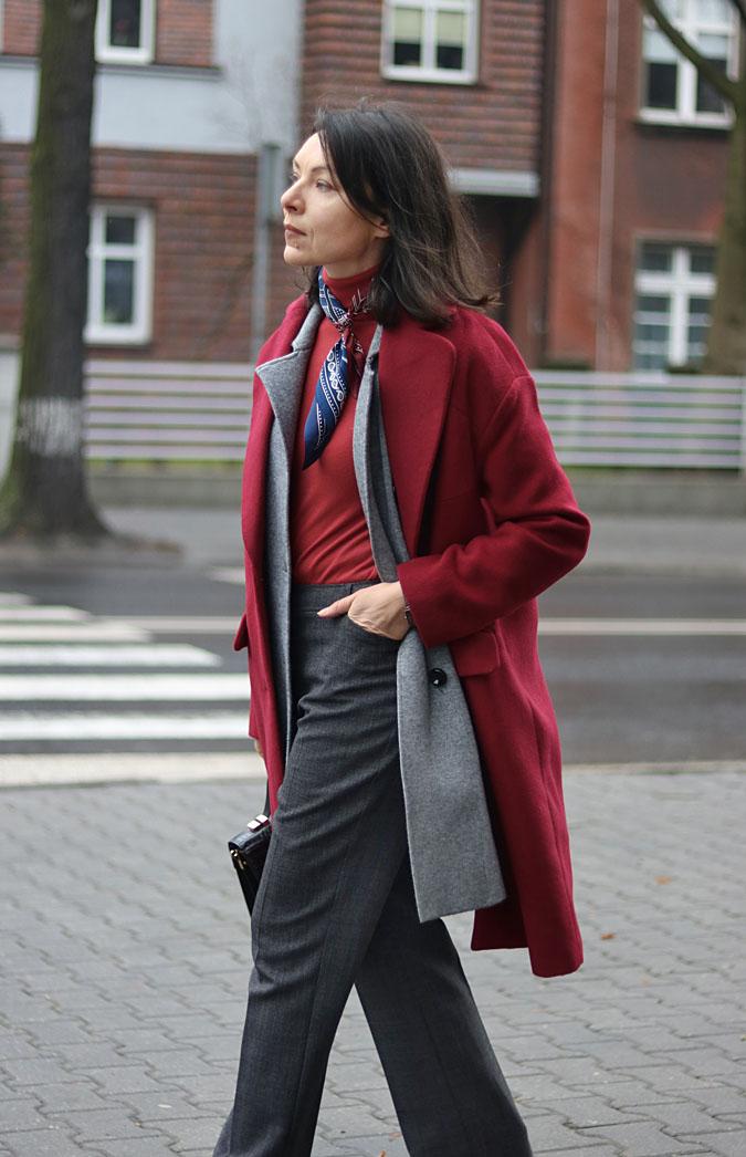 burgundy coat 2018