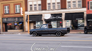 Black Classic Chevy Truck