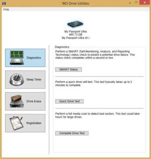 WD Drive Utilities 2.0.0.48