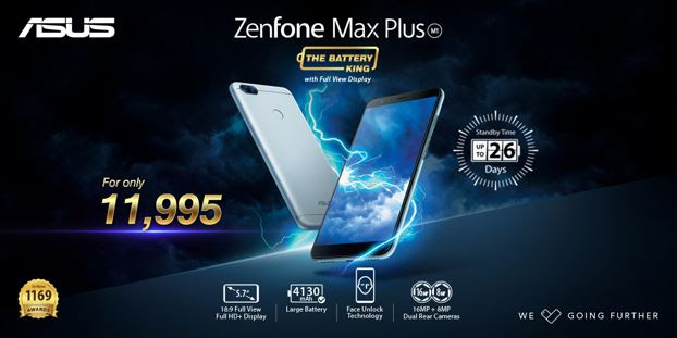 "The ASUS ZenFone ""Battery King"" Max Plus"