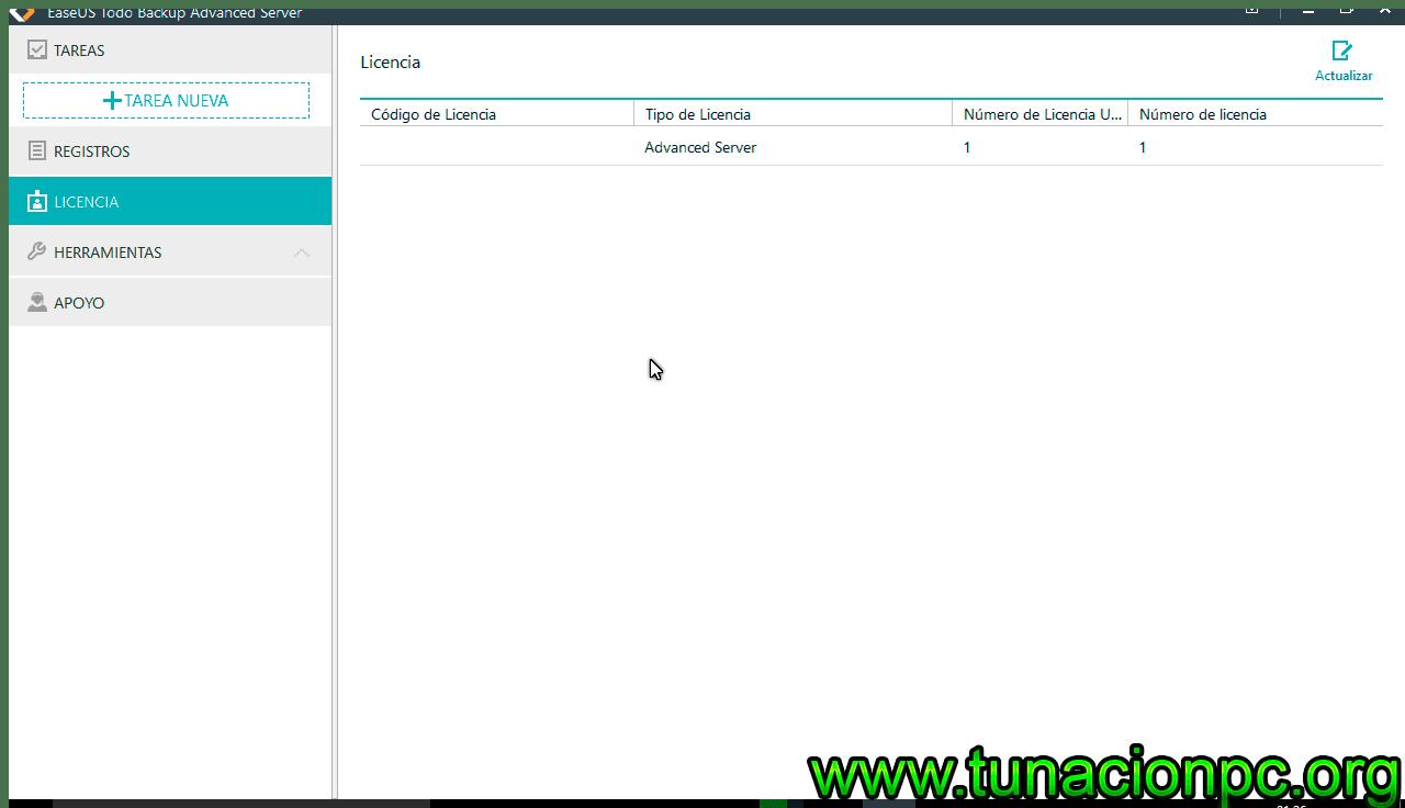 Descargar EASEUS Todo Backup Advanced Server Gratis