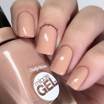Sally Hansen Miracle Gel Frill Seeker swatch Travel in Colour collection