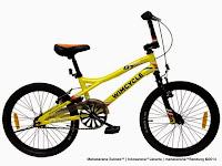 Sepeda BMX Wimcycle Dirt Trasher Rangka Aloi 20 Inci