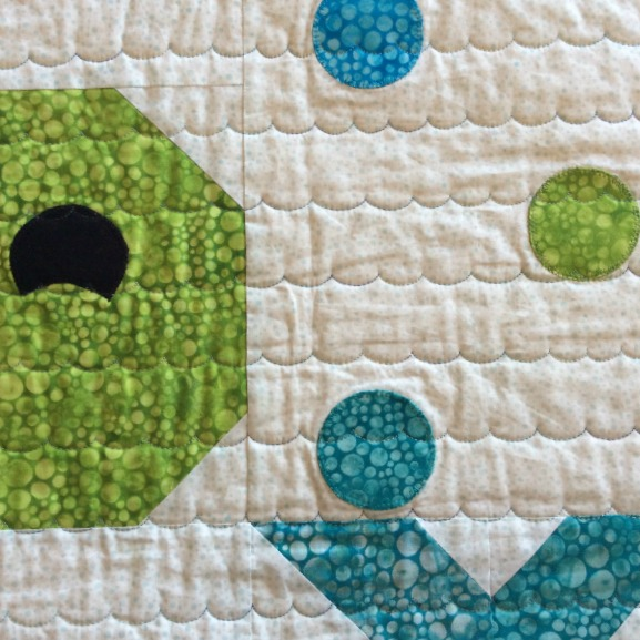 The Cuddle Quilter Whales And Stars