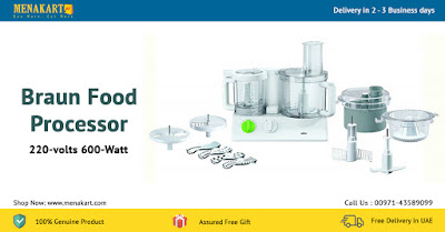 Braun Food Processor, 220-volts