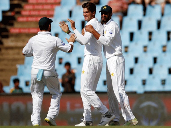 Sachorin Test; South Africa 127 runs on 5 Wickets on the first day