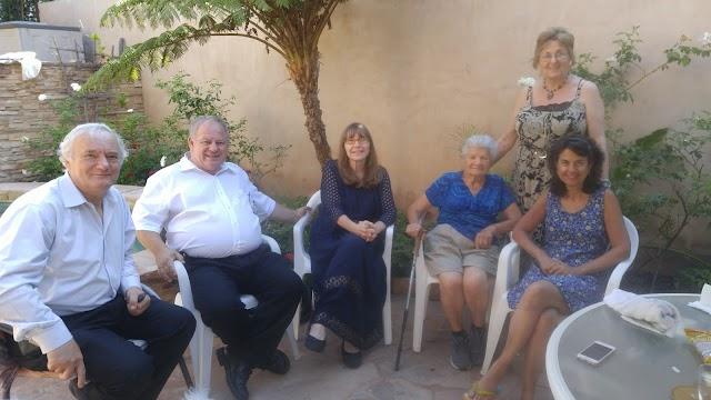 Látogatás Castillo Piroska néninél