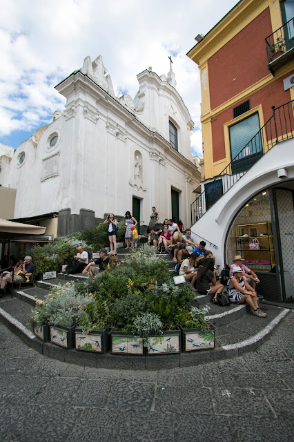 La piazzetta-Capri