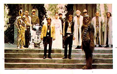 Álbum La guerra de las galaxias Cromo 9