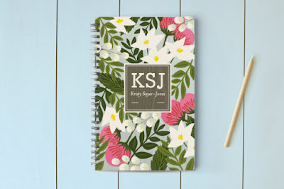 Monogrammed and Personalized Stationery and Notebooks